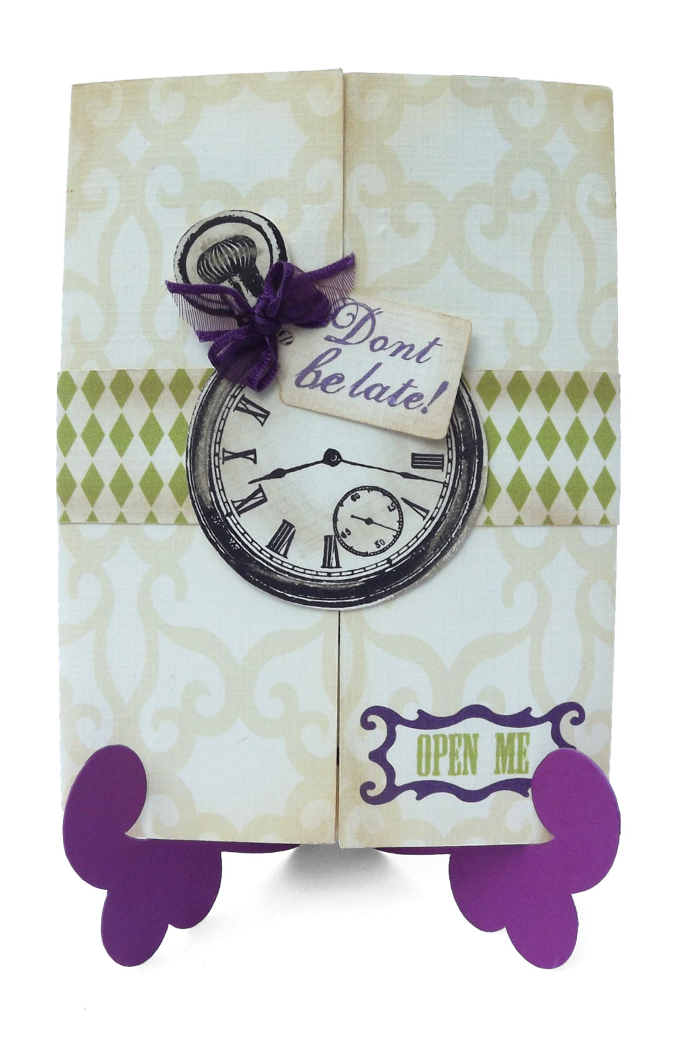 Mad Hatter Tea Party Invitation - Pazzles Craft Room