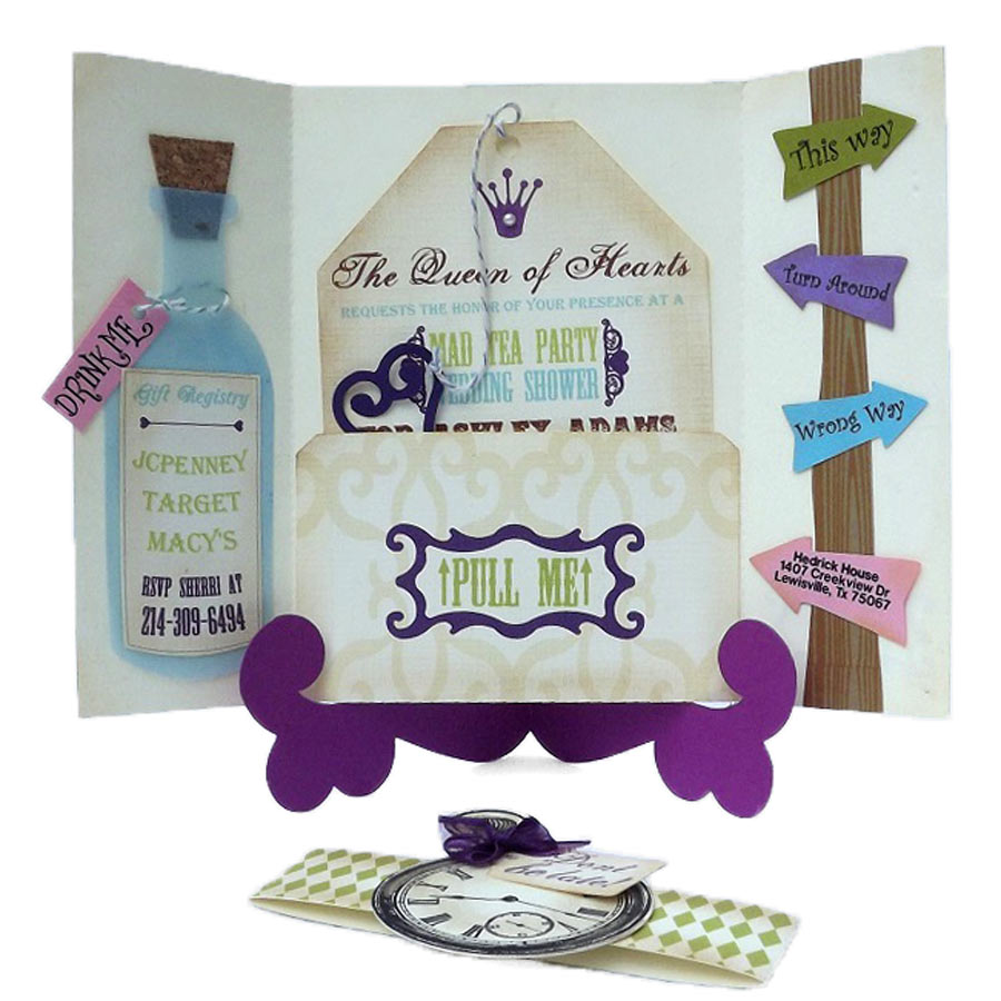 Mad Hatter Tea Party Invitation