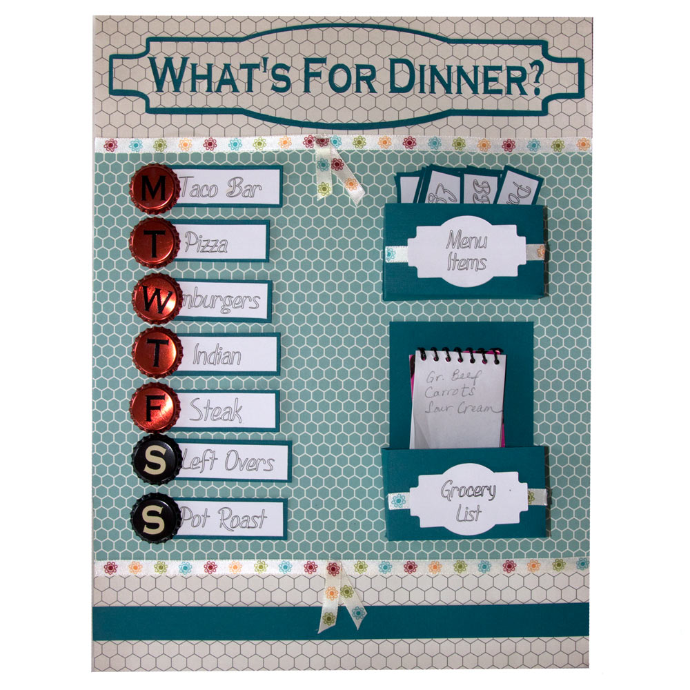 DIY Menu Planner Board