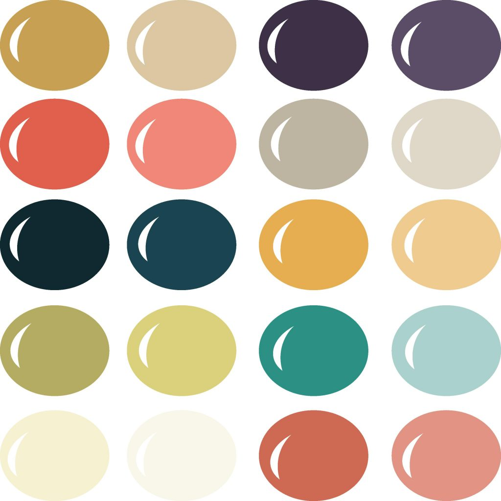 Pazzles Mod Love color palette with instant download.