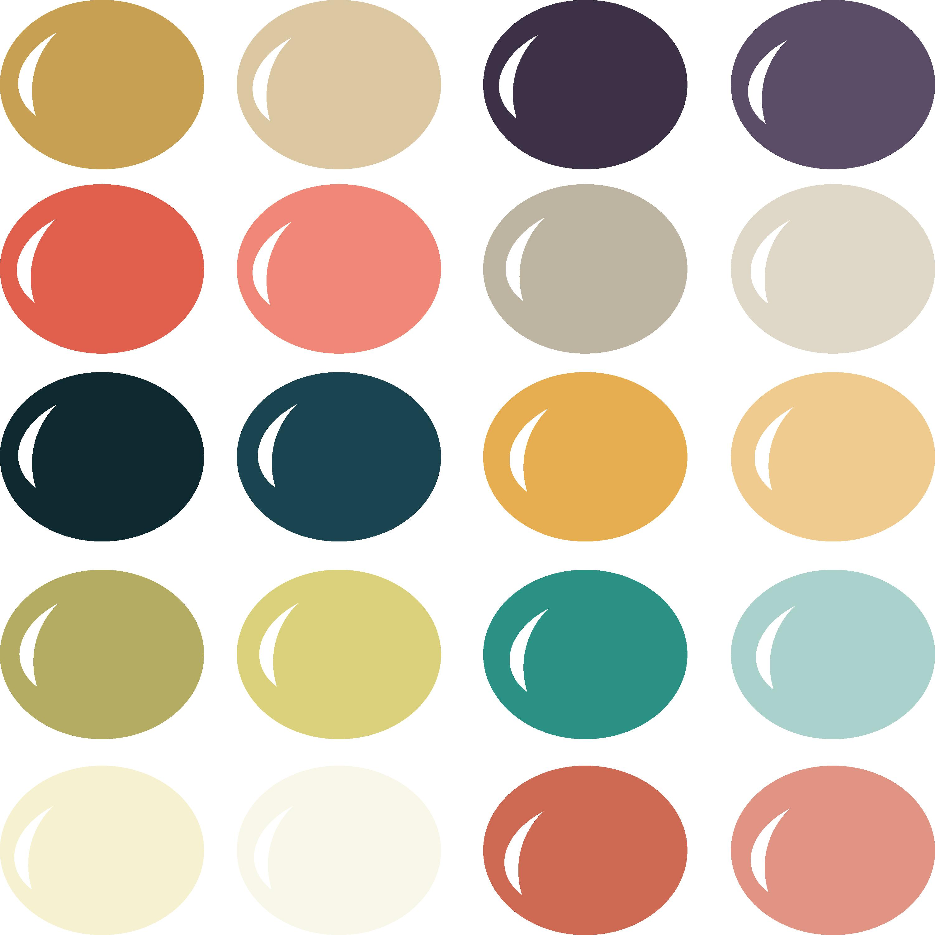 Mod Love Color Palette