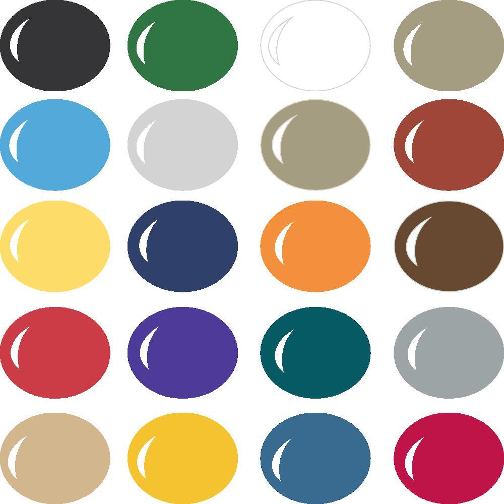 InVue Color Palette: NFL Colors