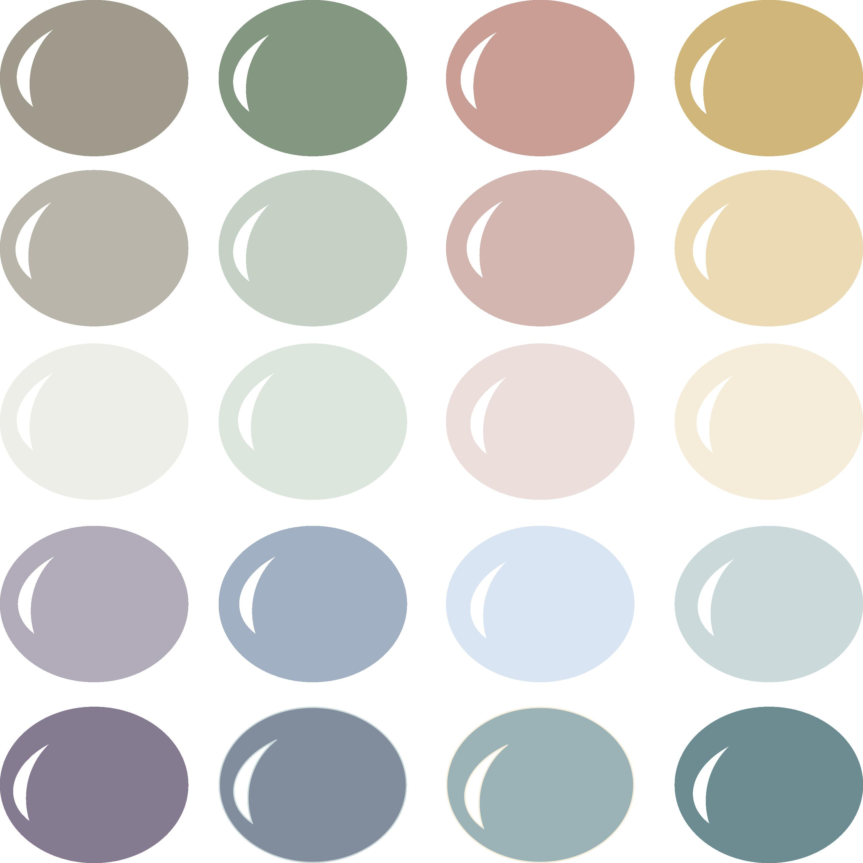 New Beginnings Color Palette
