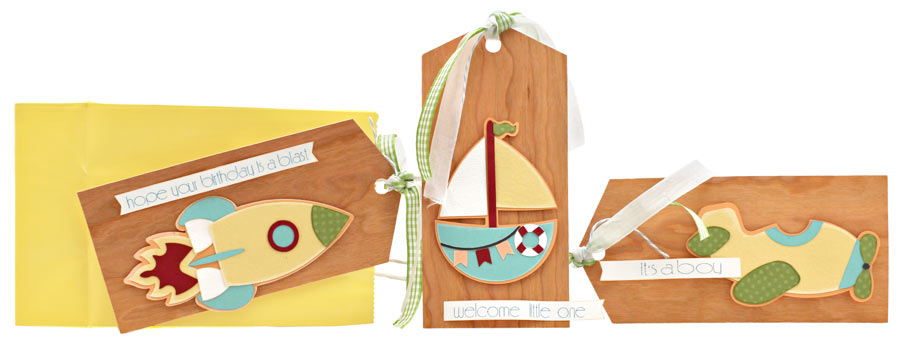 On the Move Rocket Boat Plane Baby Birthday Gift Tag Set WPC SVG Cutting Files
