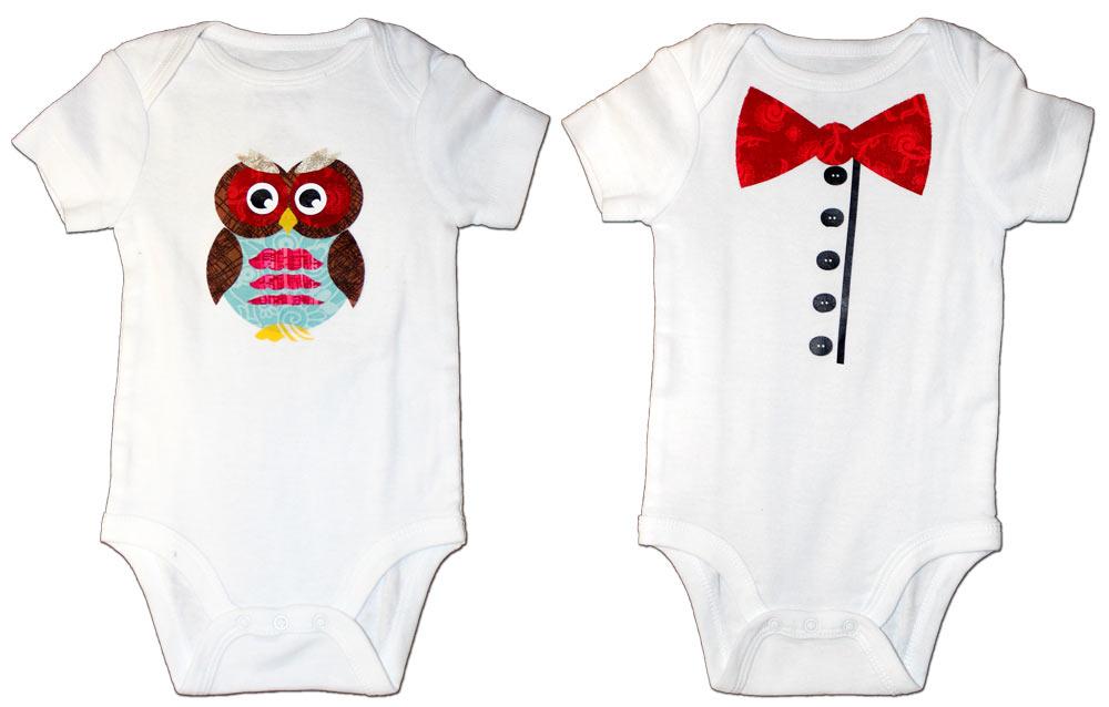 Owl-And-Bowtie-Onesies