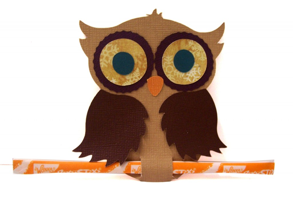 Owl Holder Pazzles Craft Room