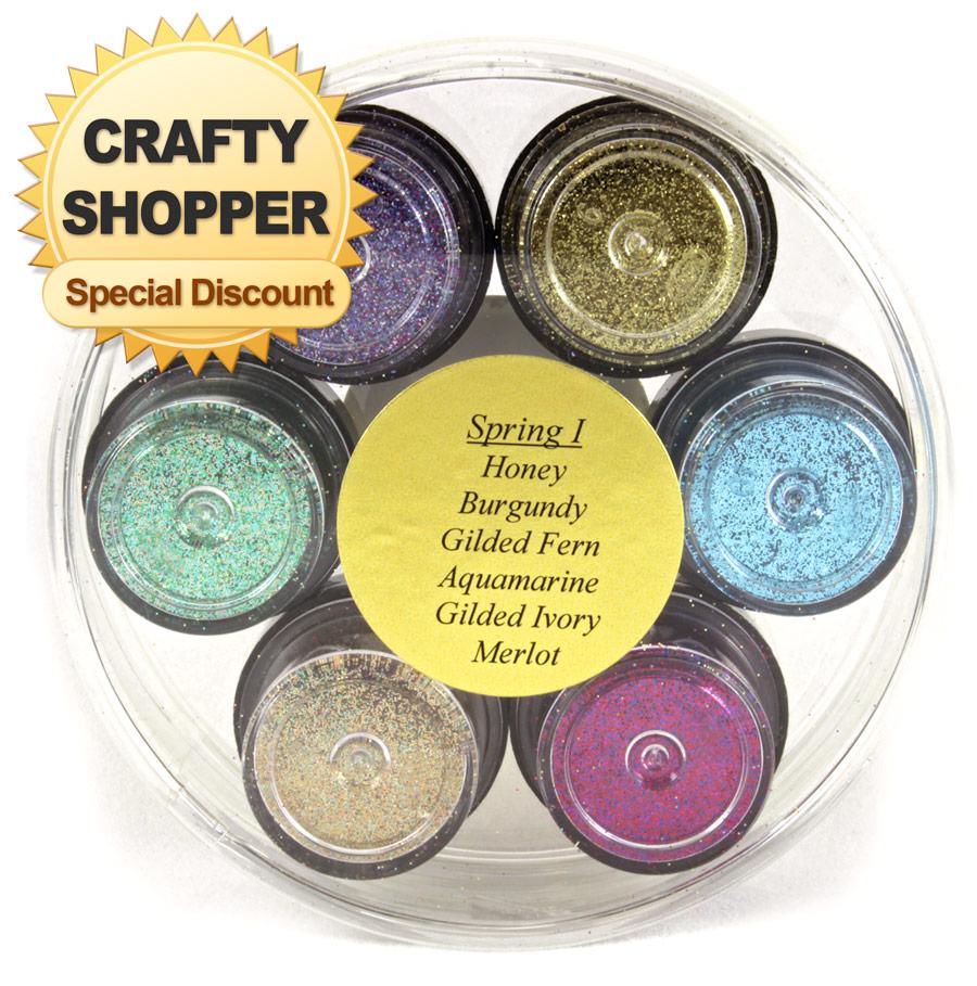 P K Glitz Glitter Wheel Spring 2 Crafty Shopper Special