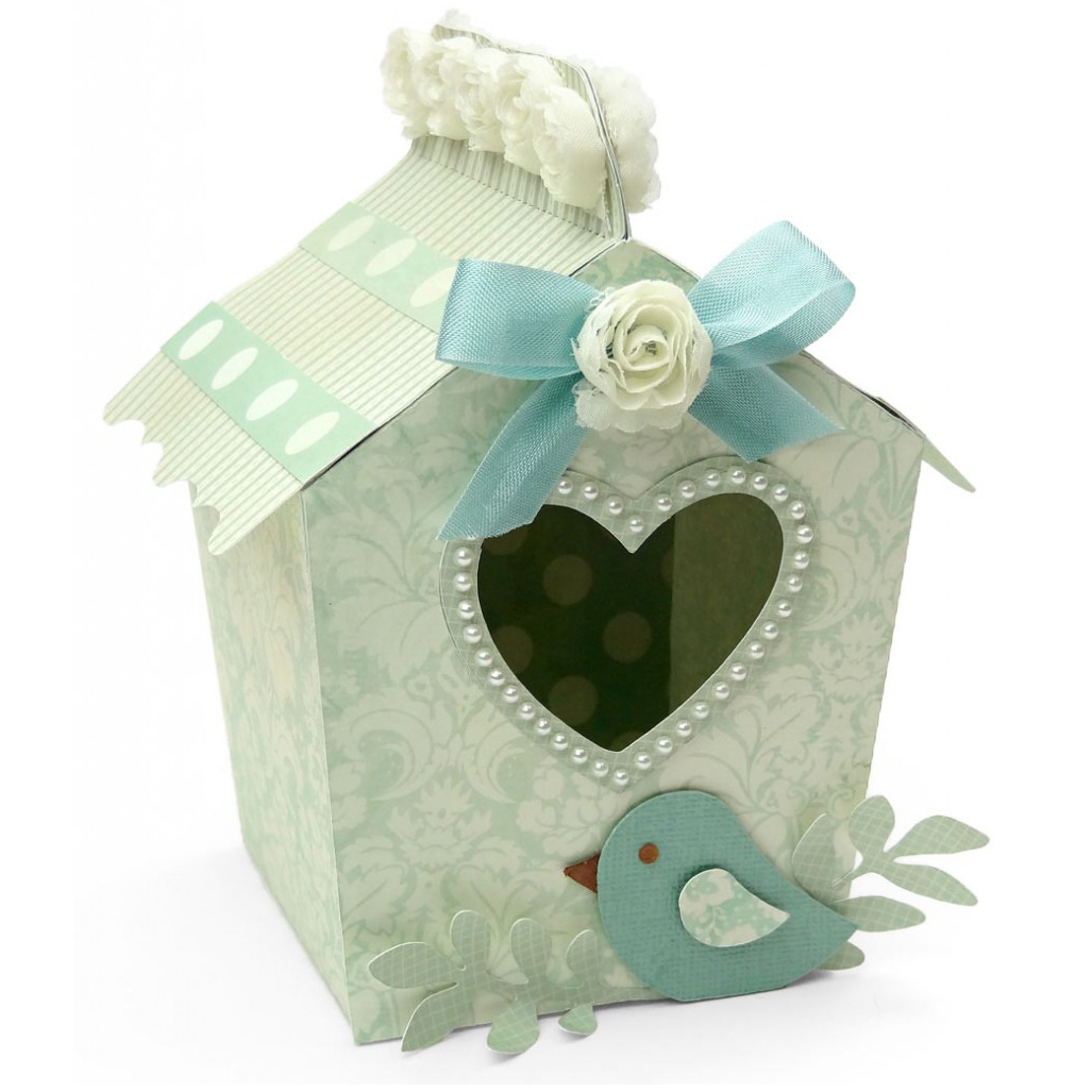 Home Tweet Home Paper Birdhouse Box Pazzles Craft Room