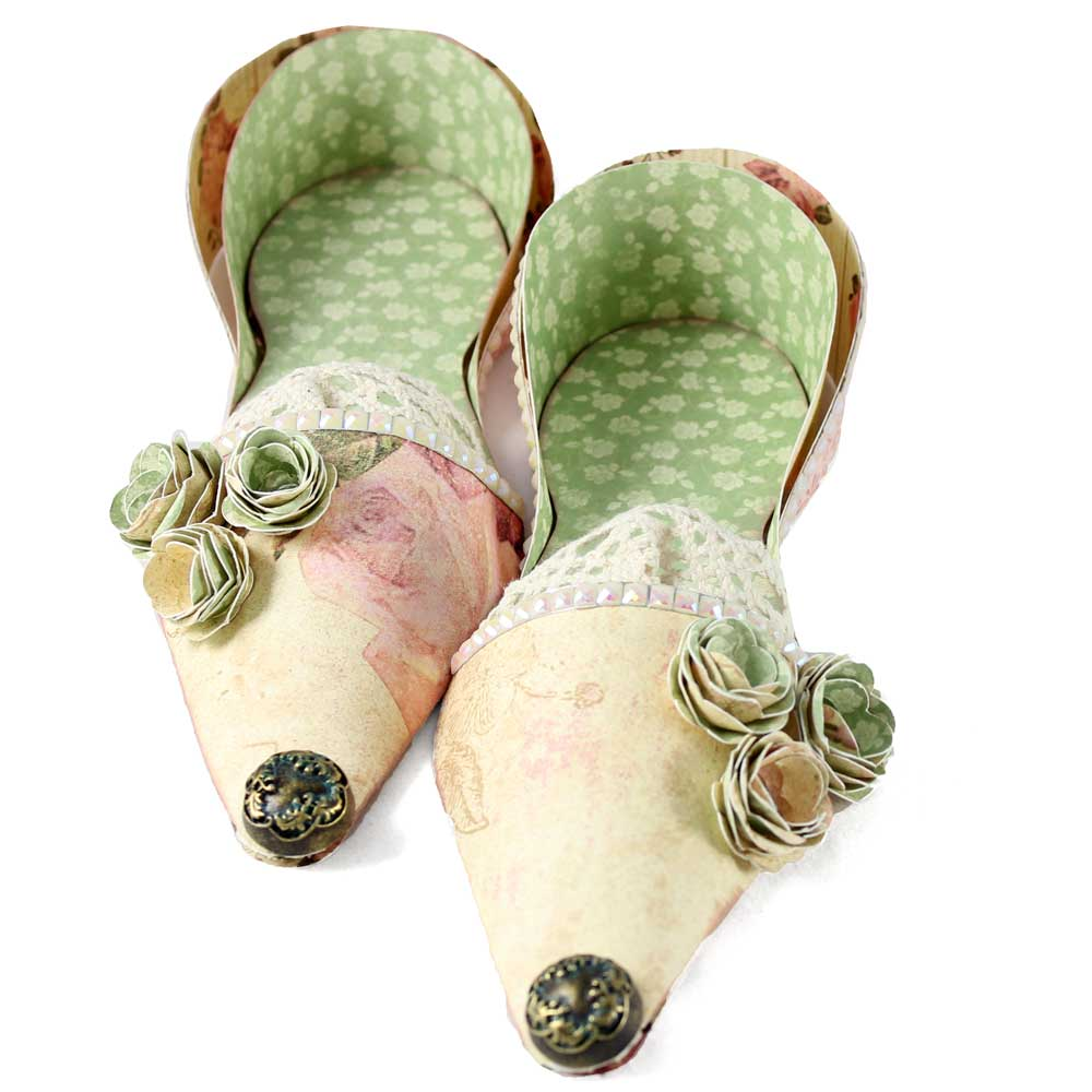 Paper Spring Fairy Shoes
