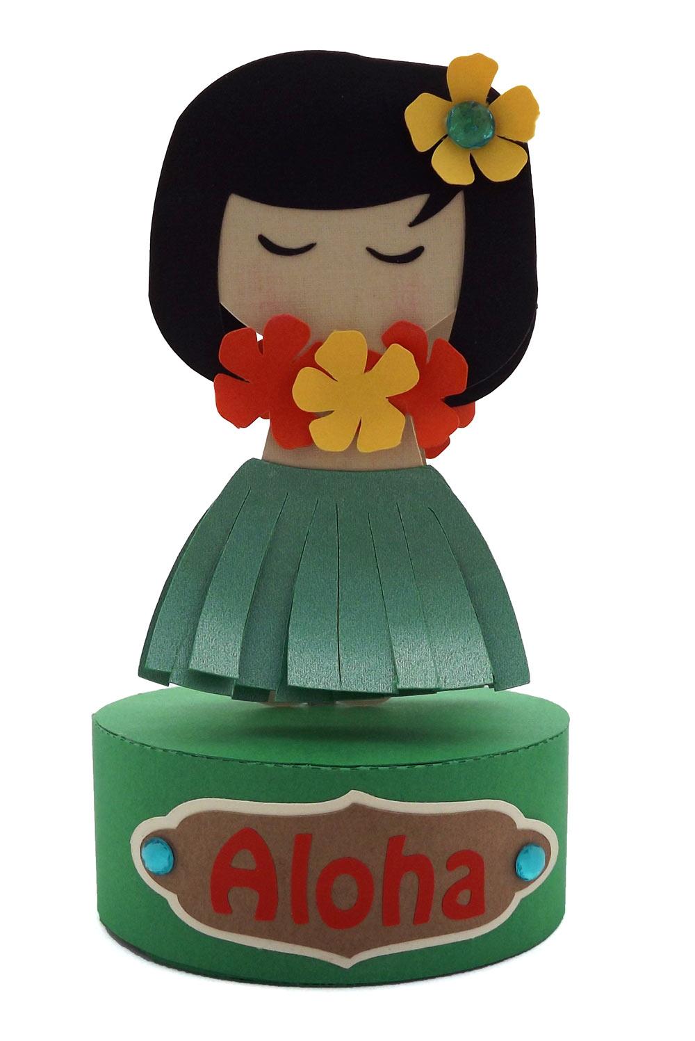 Paper-Hula-Girl-Bobble