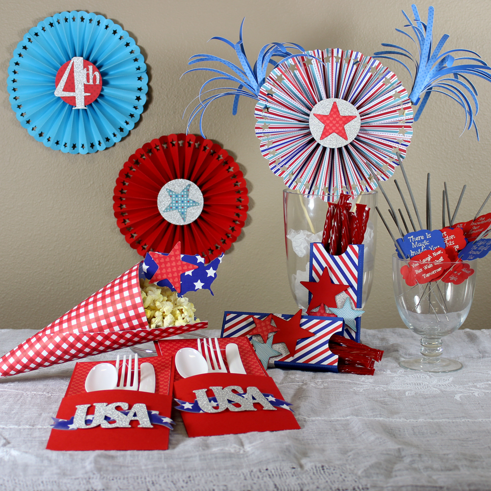 Patriotic Party Supplies Pazzles Craft Room