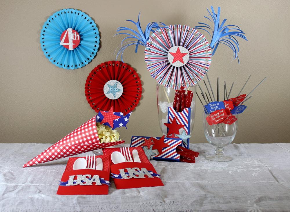 Patriotic-Party-Supplies-Set