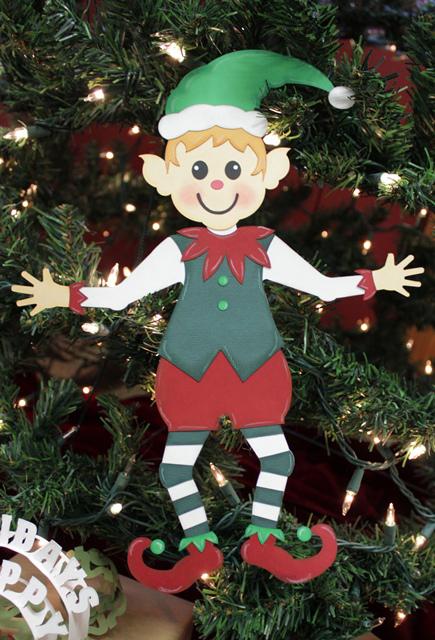 Paz the Pazzles Elf