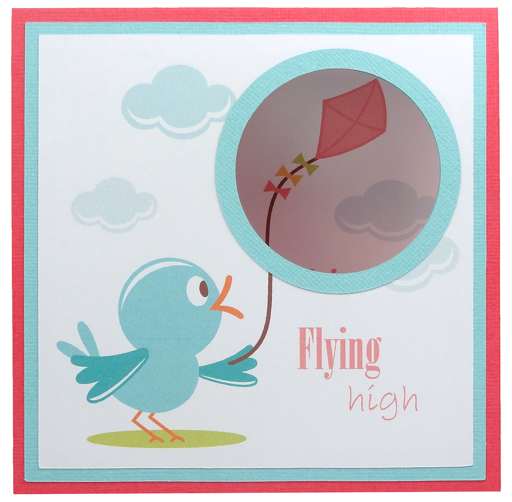 Peek a boo window kite card pazzles craft room for Where can i use my synchrony home design card