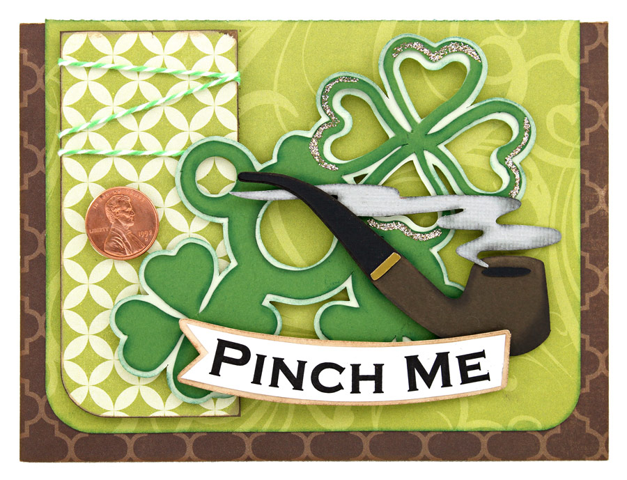 Pinch-Me-Smoking-Pipe-Four-Leaf-Clover-Card