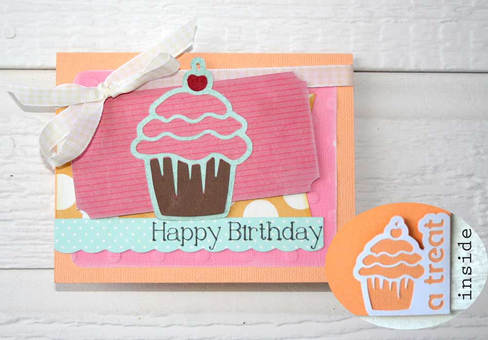 Pocket Cards Cutting Collection Birthday Card