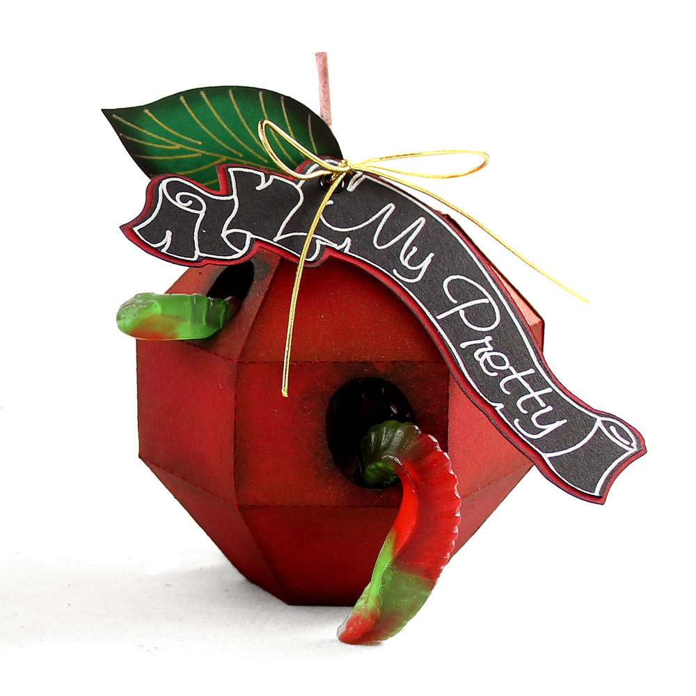 Poison Paper Apple Cutting Files