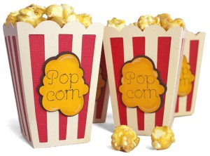 Circus Popcorn Tub from Pazzles WPC and SVG cutting files CD 'Party'