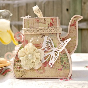 Prima and Pazzles Fairy Rhymes Tea Pot Box