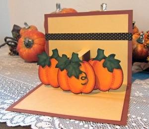 Pumpkin Gratitude Card Inside