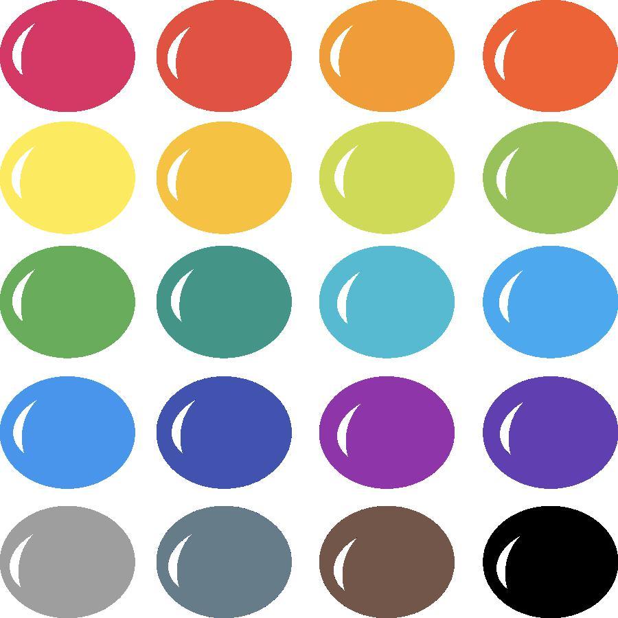 InVue Color Palette: Rainbow