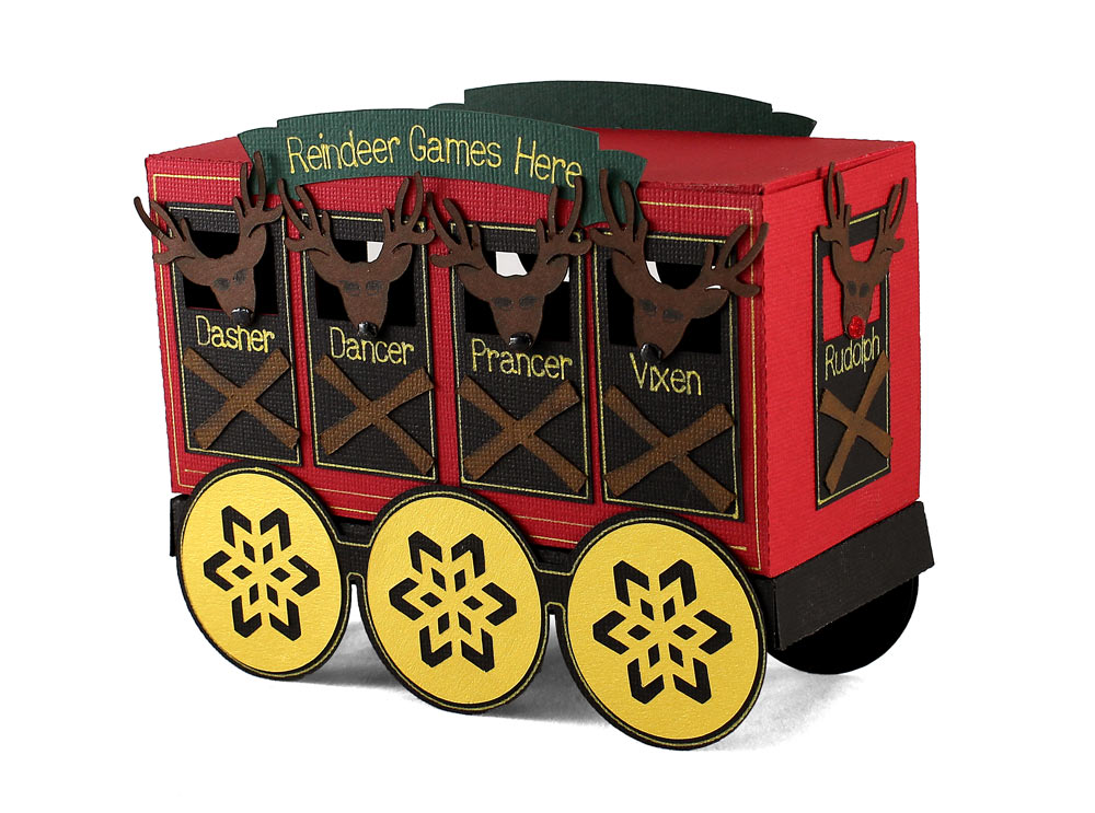 Reindeer-Train