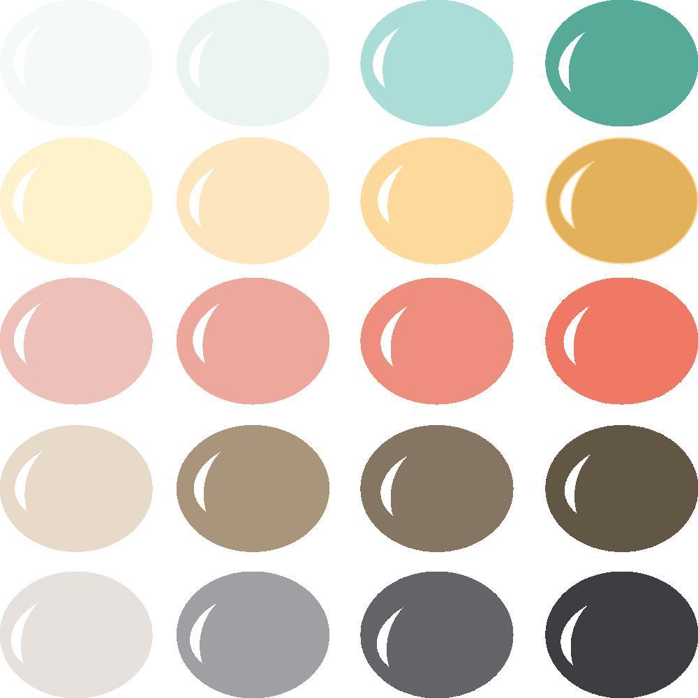 InVue Color Palette: School Daze