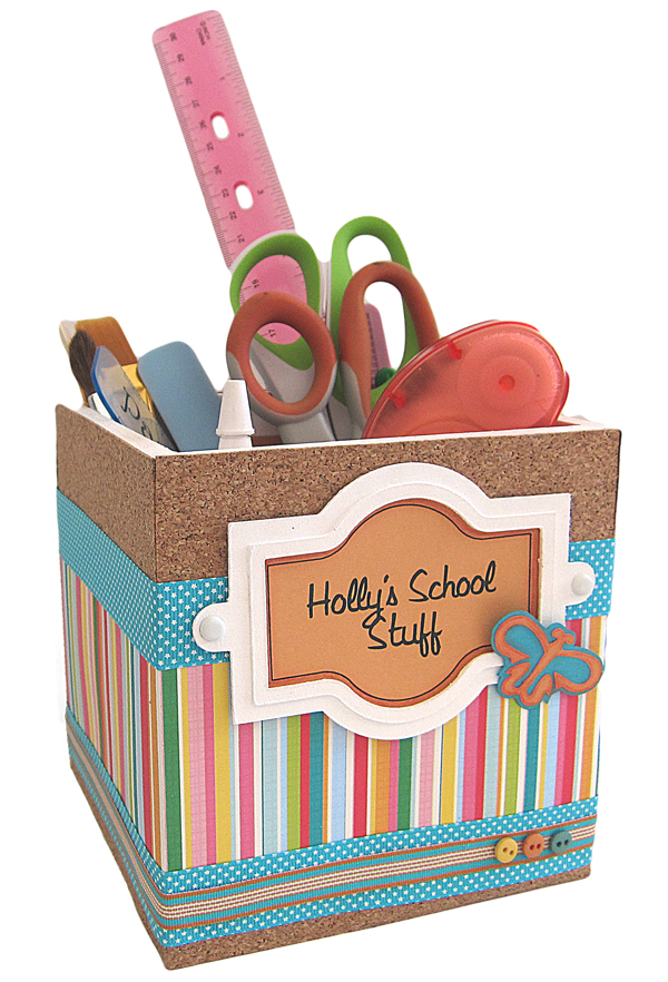 School Supply Box Pazzles Craft Room