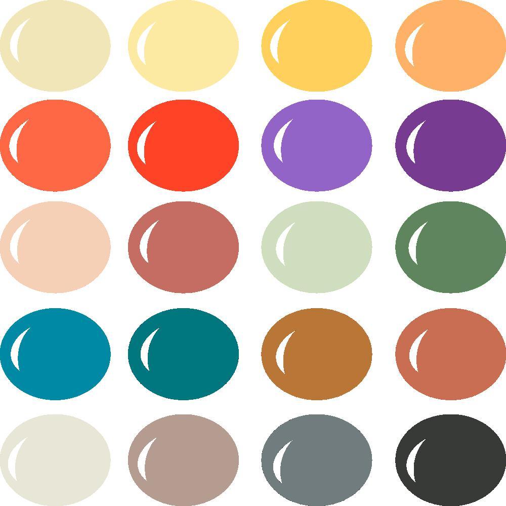 InVue Color Palette: September 2017