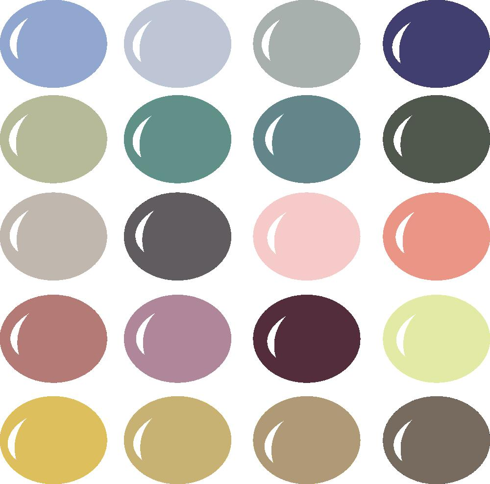 InVue Color Palette