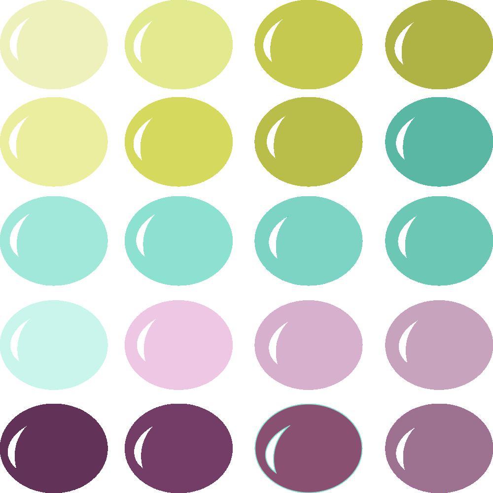 InVue Color Palette: Softly Spring