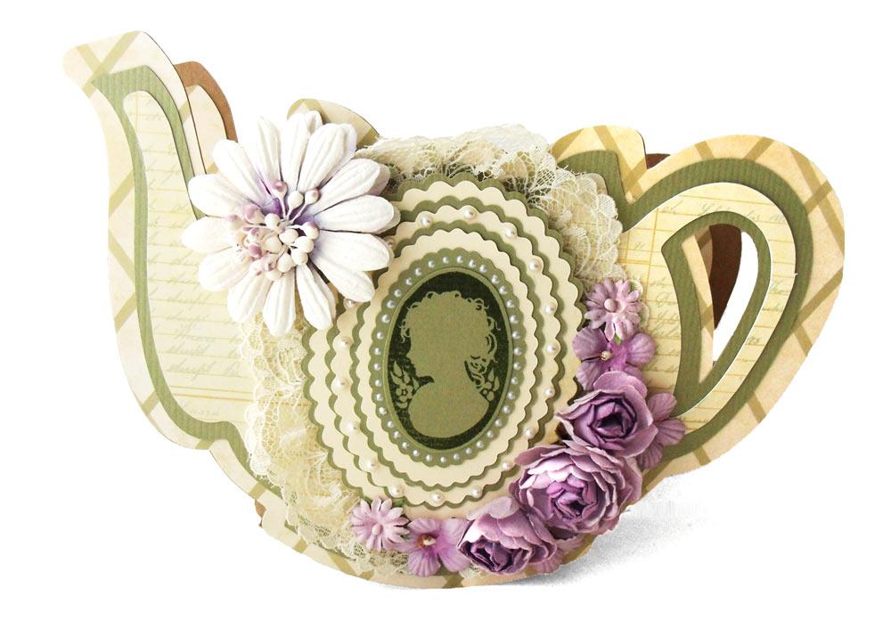 Spellbinders Tea Pot