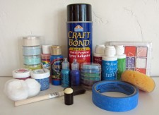 Stencil Plastic Mediums Supplies