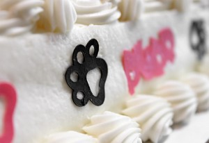 Wilton Sugar Sheet Pazzles Inspiration Die Cut Cat Paw Detail