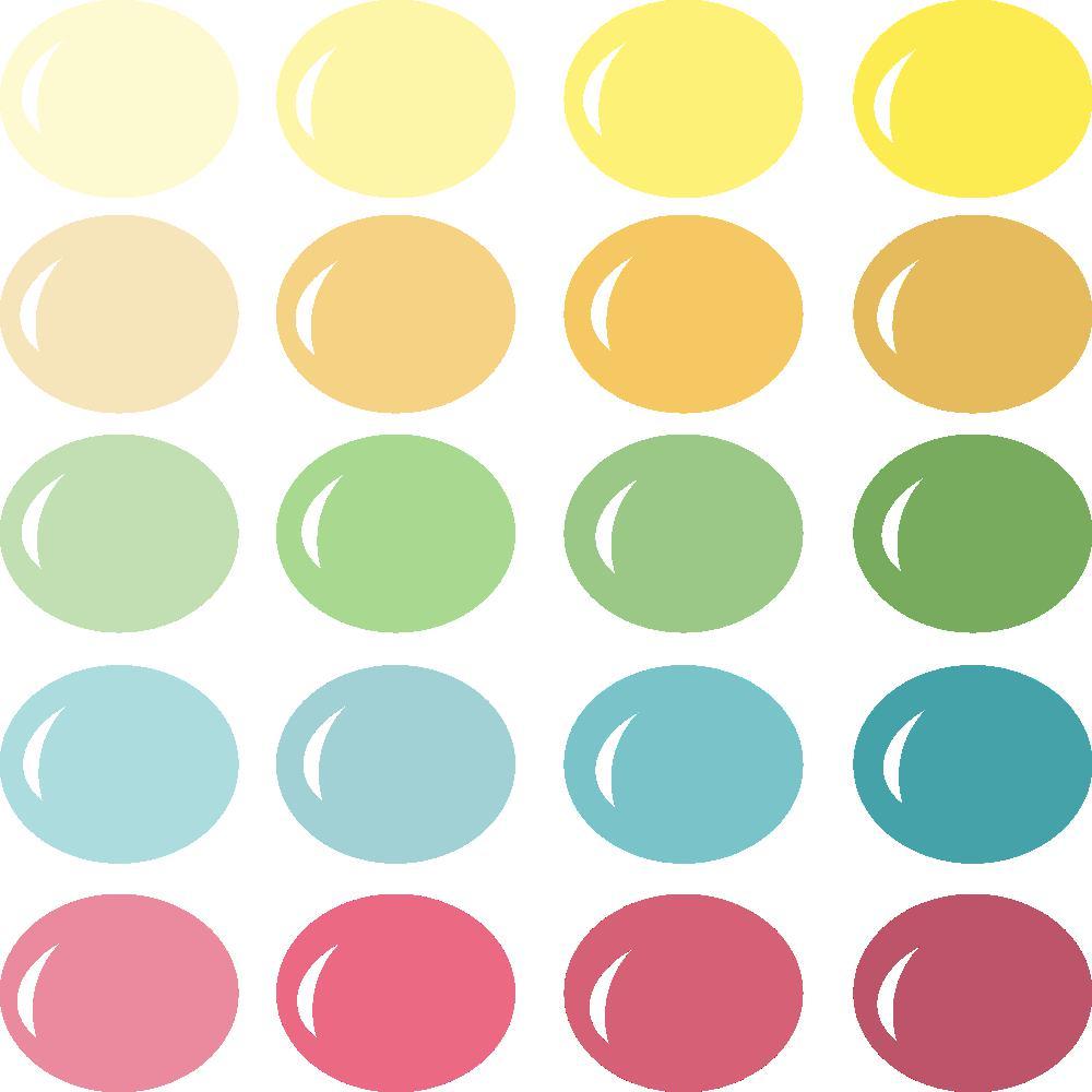 InVue Color Palette: Summer Blossom
