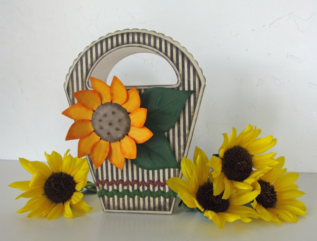Sunflower Gift Box Pazzles Craft Room