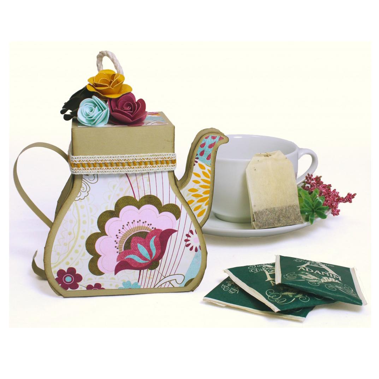 Праздник, открытка чайничек