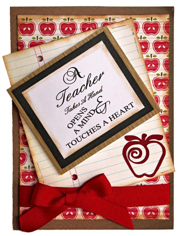 Teacher Appreciation Thank You Card Pazzles Craft Room