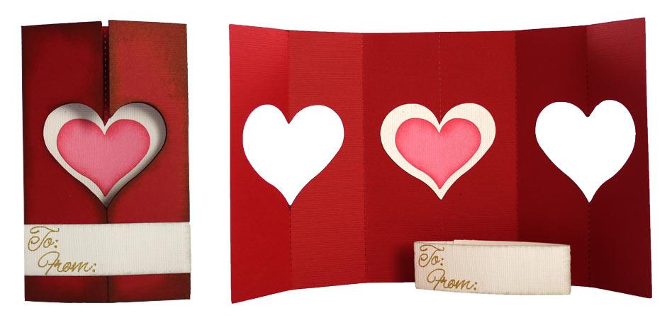 Tri-Fold-Heart-Card