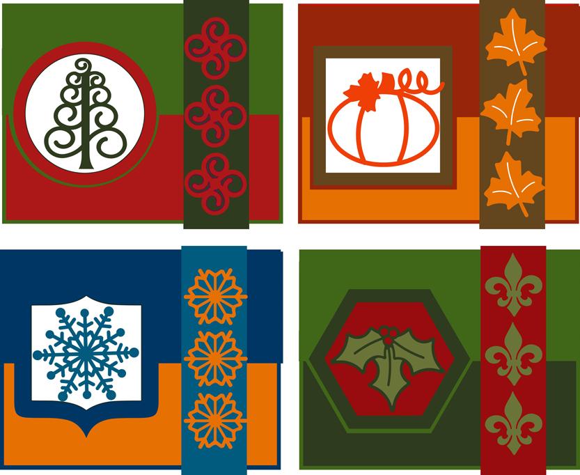 Tri-Fold Holiday Cards blog
