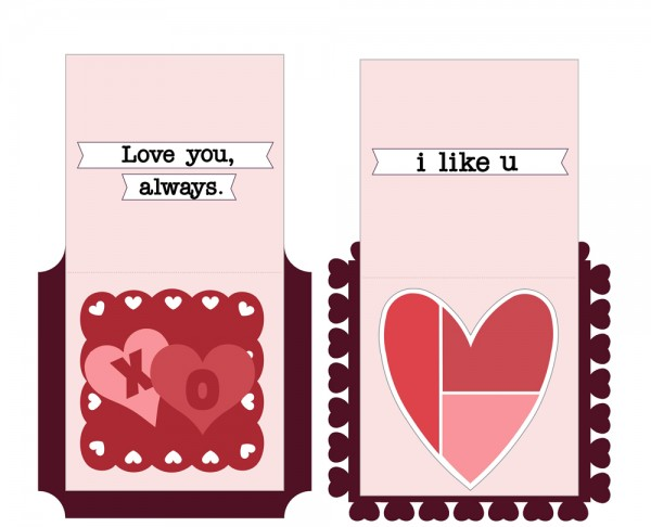 Pattern: Love Cards
