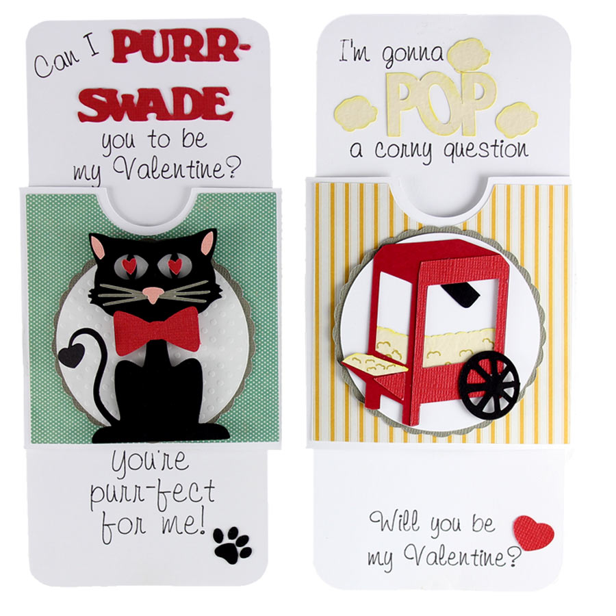 Valentine Pun Slider Cards