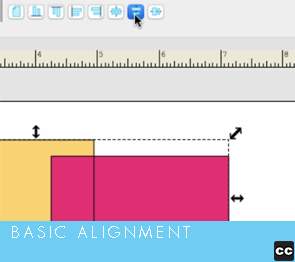 Selection Tool: Basic Alignment