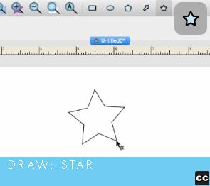 Draw: Star