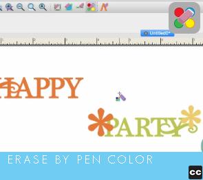 Erase by Pen Color