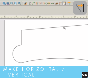 Move Point Toolbar: Horizontal/Vertical