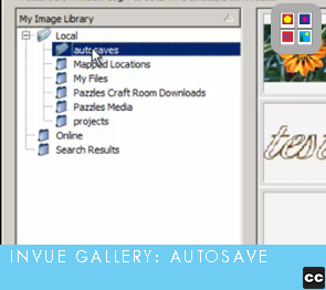 Image Gallery: Autosave