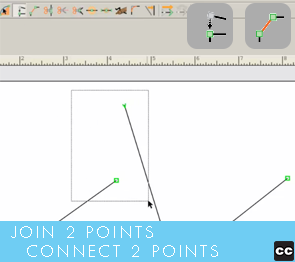Move Point Toolbar: Join Two Points