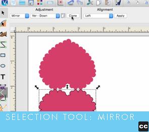Selection Tool: Mirror
