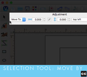 Selection Tool: Move By